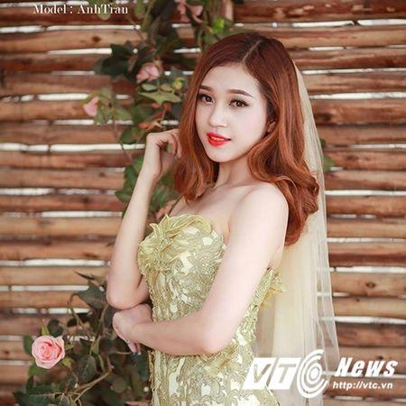 Hoa khoi truong DH Khoa hoc xa hoi Nhan van mo lam nu tiep vien hang khong - Anh 1