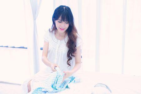 Mang thai lan 4, Minh Ha van giu nhan sac hot girl dang ghen ti - Anh 3