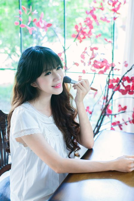 Mang thai lan 4, Minh Ha van giu nhan sac hot girl dang ghen ti - Anh 4