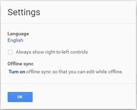 'Do' giao dien Google Docs de dung nhu MS-Office - Anh 2