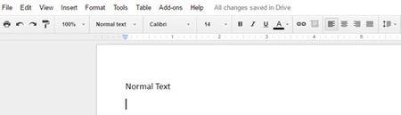 'Do' giao dien Google Docs de dung nhu MS-Office - Anh 4