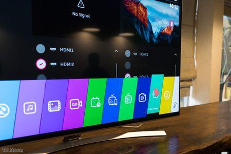 Thu nghiem tinh nang Multi-View tren Smart TV LG 2016: 1 TV chieu thanh 2 man hinh - Anh 2