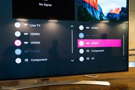 Thu nghiem tinh nang Multi-View tren Smart TV LG 2016: 1 TV chieu thanh 2 man hinh - Anh 4