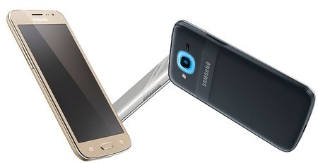 Galaxy J2 (2016): Den LED vong doc dao, Turbo Speed Technology, Android 6, gia 145 USD - Anh 1