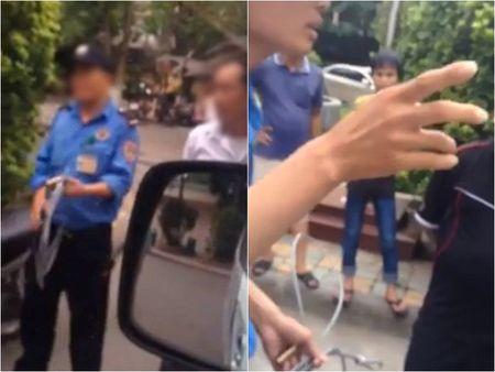Giam doc Benh vien Nhi phan no khi xem clip bao ve BV 'xich' xe cuu thuong - Anh 1