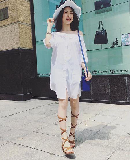 Sao style 8/7: Phuong Trinh nhu cong chua nho, Minh Hang mac do boi ra pho - Anh 3