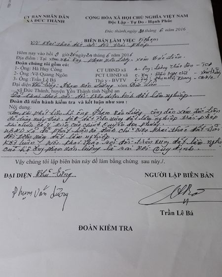 """Xa Duc Thanh (Nghe An): Dan khai thac dat trai phep dem ban, chinh quyen co """"lam ngo""""? - Anh 3"""