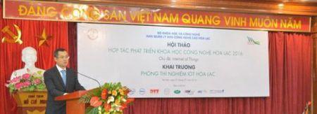 Khai truong Phong Thi nghiem IoT tai Hoa Lac - Anh 1