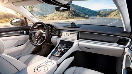 Mau Porsche Panamera the thao da duoc thiet ke phong cach sedan sang trong - Anh 4