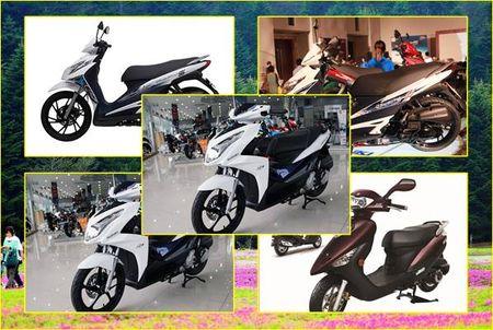 Bang gia cac dong xe may Suzuki thang 7/2016 - Anh 1
