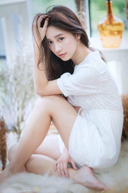Hotgirl Thai Lan goc Viet gay thuong nho boi ve quyen ru rang ngoi - Anh 14