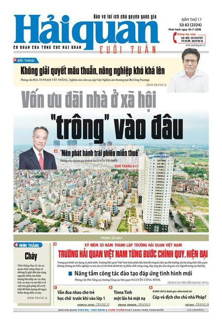 Nhung tin, bai hap dan tren Bao Hai quan so 82 phat hanh ngay 10-7 - Anh 1