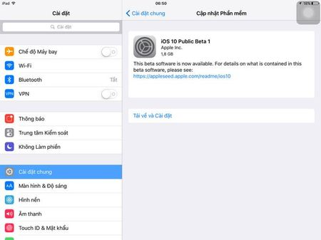 Apple chinh thuc phat hanh iOS 10 Public Beta - Anh 2