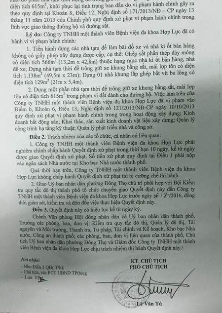 Thanh Hoa: TCty CP Hop Luc da nhan ro sai pham - Anh 2