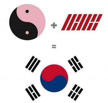Bi an dang sau logo cua 2 nhom nhac iKON - Black Pink - Anh 2