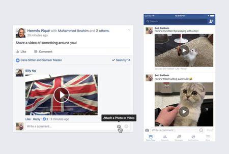 Facebook cho tai video de xem lai offline - Anh 1