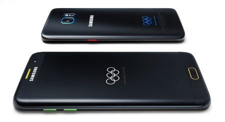 Samsung tang S7 Edge Olympic Edition cho VDV du Rio 2016 - Anh 2