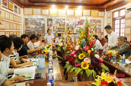 Doanh nghiep Nhat Ban khao sat 1 so mo hinh nong nghiep Nghe An - Anh 12