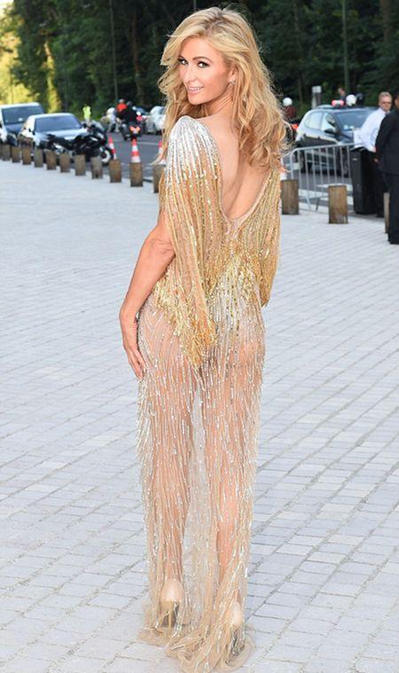 Paris Hilton pho vong ba trong vay mong - Anh 2