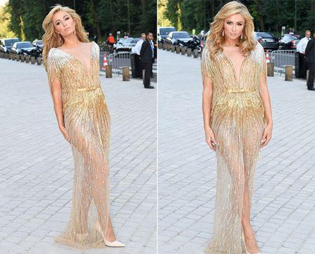 Paris Hilton pho vong ba trong vay mong - Anh 4