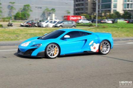 McLaren 675LT lot xac trong 'bo canh' meo may Doremon - Anh 5