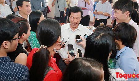 Bo truong Nguyen Ngoc Thien: Van hoa phai huong den nghe thuat dinh cao - Anh 2