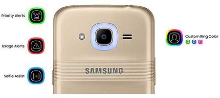 Samsung Galaxy J2 (2016) chinh thuc ra mat voi tinh nang thong bao Smart Glow - Anh 2