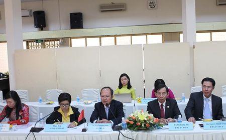 Uy ban Mat tran Lao Xay dung Dat nuoc Thu do Vieng Chan lam viec tai TP HCM - Anh 2