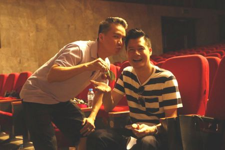 Dan sao nam Vpop quy tu trong live show cua Thanh Thao - Anh 4