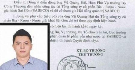 Pho thu tuong yeu cau bao cao vu con trai ong Vu Huy Hoang - Anh 1