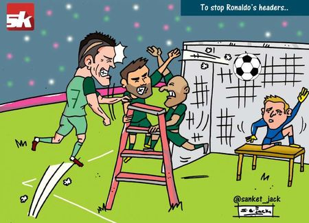 Biem hoa giai phap ngan can Ronaldo bat cao ghi ban - Anh 1