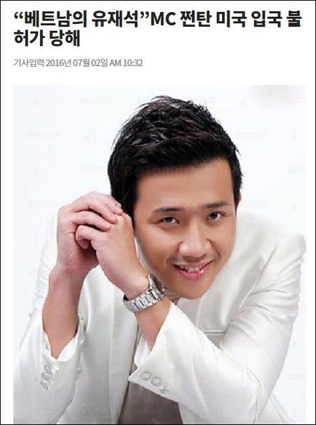 MC Tran Thanh bi tu choi nhap canh o My len bao Han - Anh 2