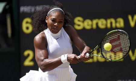Serena lan thu hai trong nam dung Kerber o chung ket Grand Slam - Anh 2
