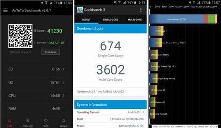 Samsung Galaxy A7 2016 dep nhung chua bang Lenovo Vibe X3? - Anh 11