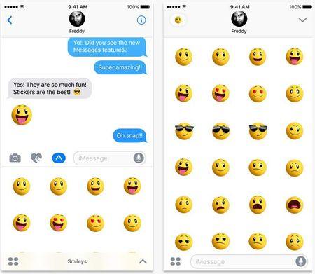 Apple tung 4 goi bieu tuong cam xuc sticker moi cho iOS 10 beta - Anh 1