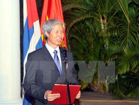 Cac hoat dong nhan ky niem Quoc khanh Viet Nam tai Argentina, Cuba - Anh 1