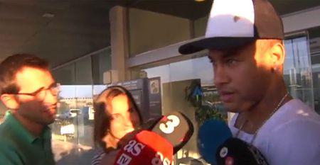 Neymar tro lai nhung Barca gio da khac - Anh 1