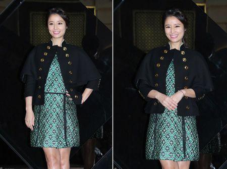 Lam Tam Nhu om bung bau di su kien - Anh 3