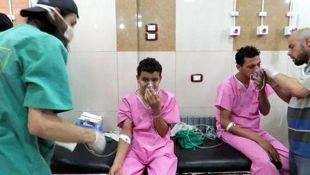 Chinh phu Syria bi to su dung bom Clo o Aleppo - Anh 1
