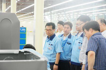 Samsung giup DN Viet Nam 'Ket noi doanh nghiep Viet voi chuoi cung ung toan cau' - Anh 1