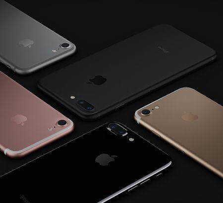 Apple iPhone 7: chong nuoc, bo jack tai nghe, CPU 4 nhan, phim Home cam ung, 2 camera, 2 loa, 5 mau - Anh 1