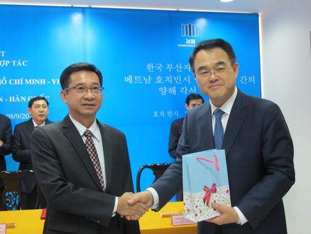 VKSND TP HCM va Vien Cong to Busan-Han Quoc ky hop tac - Anh 4