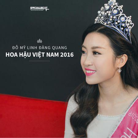 Suc cuon hut dac biet cua Hoa hau Do My Linh tu khi dang quang - Anh 2