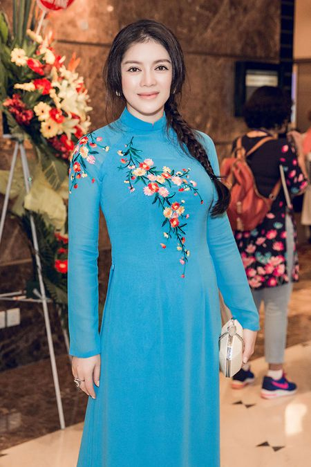 Ly Nha Ky mac ao dai gian di tiep kien Tong thong Phap - Anh 3