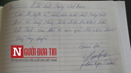 Loi tien biet dam nuoc mat cua dong nghiep viet cho NS Han Van Tinh - Anh 8