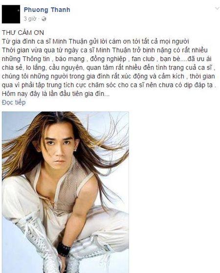 Thuc hu thong tin 'benh tinh ca si Minh Thuan tro nang' - Anh 2
