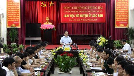 Bi thu Thanh uy Ha Noi: Phai bo tam ly ai cung muon day rac sang nha khac - Anh 1