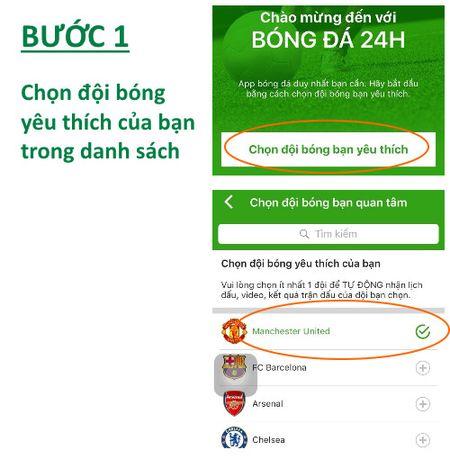 HOT: Huong dan cai dat ung dung bong da 24H - Anh 3