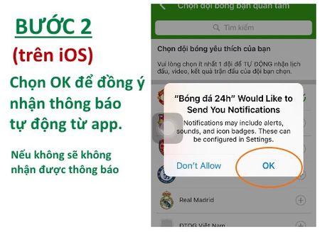 HOT: Huong dan cai dat ung dung bong da 24H - Anh 4