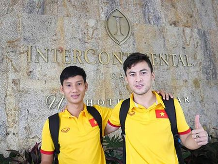 DT futsal VN duoc an ngon, tap sung truoc World Cup - Anh 1
